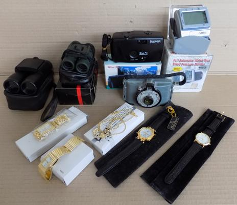 Selection of watches & vintage cameras