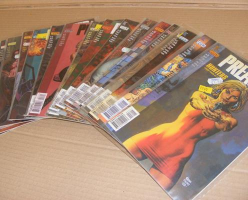 20x Vintage adult comics, all unopened, in sleeves - 'Preacher'