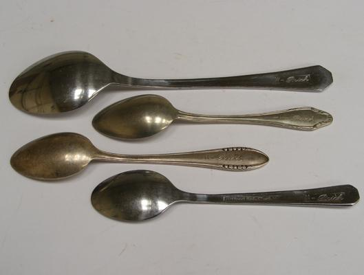 Set of WW2 SS spoons