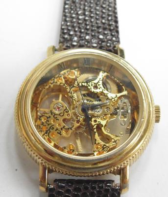 Sekonda skeleton watch - W/O, wind-up