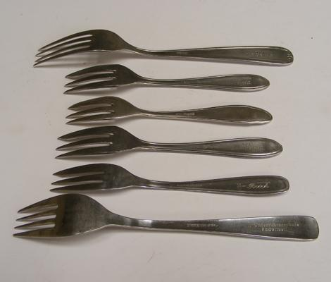 Set of WW2 SS forks