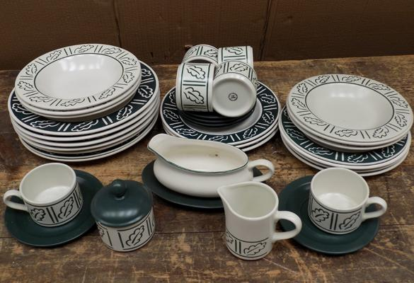 Hornsea Pottery 'Forest' part dinner set