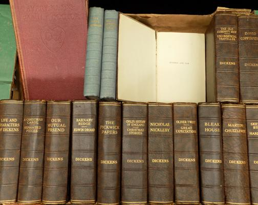 Vintage Dickens books x14 - and others