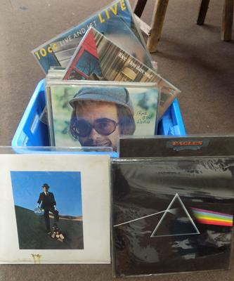 Selection of collectable LP's