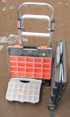 Folding sack cart, box cart & two tool cases