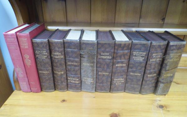 9 Dickens books and 2 others
