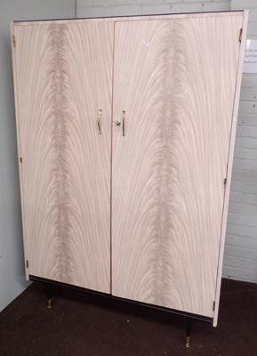 Retro large wardrobe - Berry Furniture Designs in melamine - requires some assembly