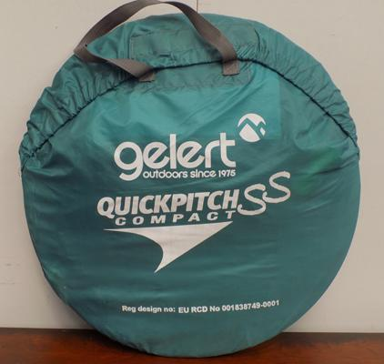 Quick pitch SS compact tent