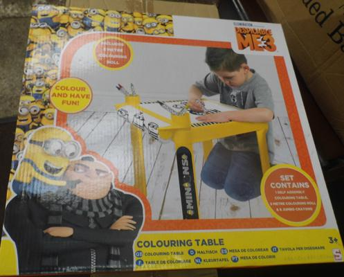 2 new Minion colouring tables