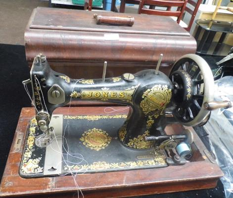Jones table top sewing machine