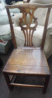 Oak country chair