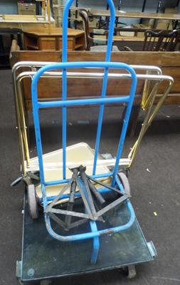Trolley, sackcart and axle stands
