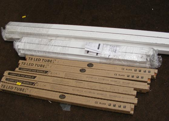 Selection of LED tubes