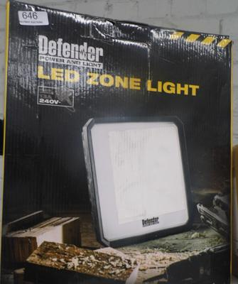 LED zone light, 240V