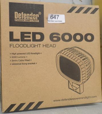 LED 6000 floodlight head