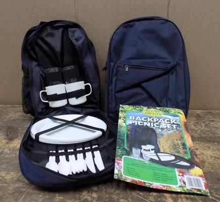 2 x Roots & Shoots picnic back packs