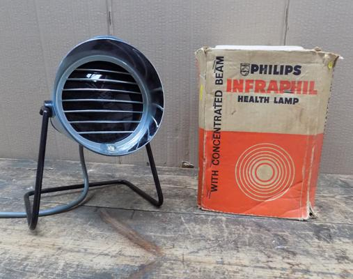 Philips vintage sun lamp
