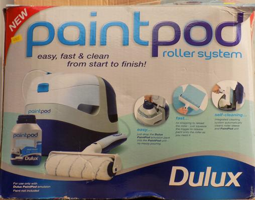 Dulux paint pod roller system, easy fast & self cleaning - new & unused, for Dulux paint only - W/O