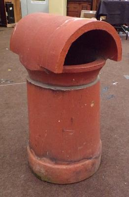 Terracotta chimney pot ideal strawberry planter