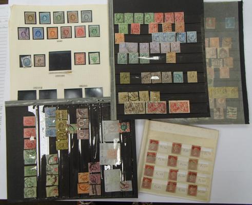 GB QV/GV, good range of high catalogue value stamps