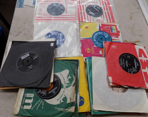 30x Collectable vinyl singles incl. The Who, Brunswick and Reaction - excellent condition