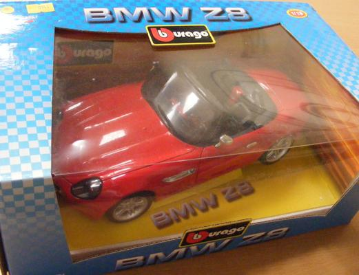 Burago 1/18 scale boxed BMW - 28 (mint condition)