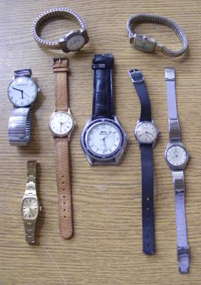 Collection of wrist watches incl. Ingersol, Slazenger and Smiths