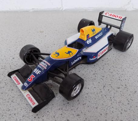 Canon Williams Nigel Mansell Red 5 racing car model (Durango)