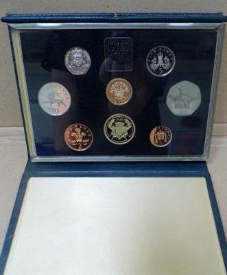 Proof coin set 1986