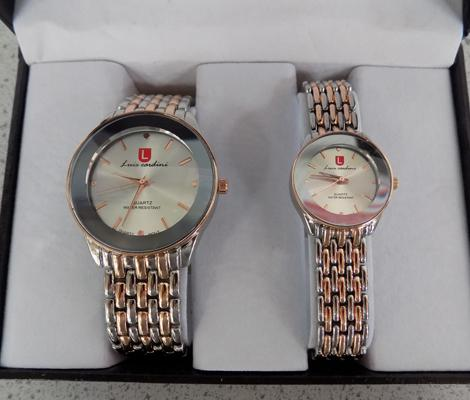 Gents and ladies watch set - Luis Cardini W/O
