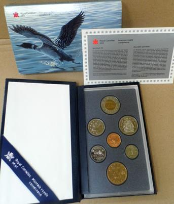 Canada proof coin set 1997
