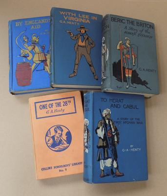 Five vintage books - collectable author