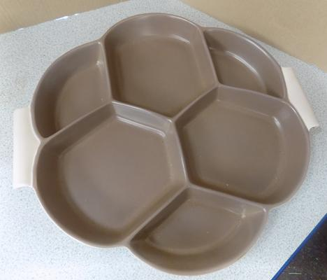 Poole Twintone serving tray
