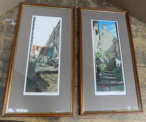 Pair of Limited Edition signed prints by Geoff Butterworth