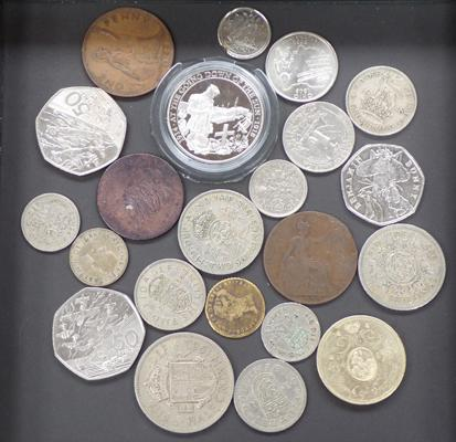 Selection of coins (some vintage)