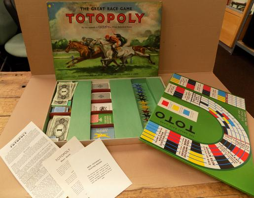 Totopoly race game