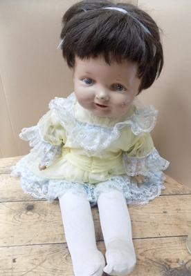 1920's/30's Reliable doll, soft body, made in Canada