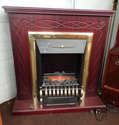 Fire place and surround - electric