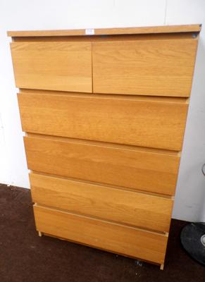 Chest of drawers - 2 over 4