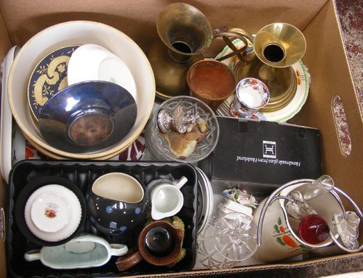 Box of mixed collectables etc...