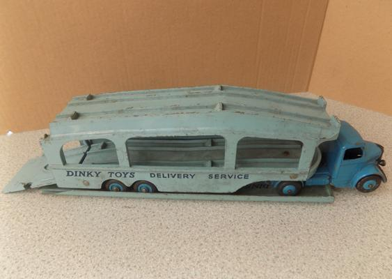 Dinky toys, delivery service vehicle