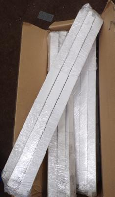 Box of new LED tubes 24 inch, approx 32
