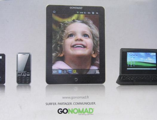 10 x Go-Nomad tablets - as seen