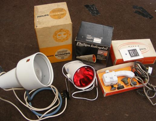 Selection of health lamps etc...