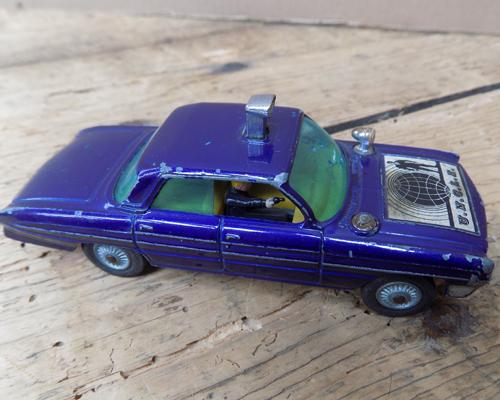 Vintage Corgi toys 'Man from Uncle' old mobile