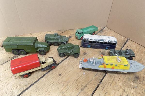 Selection of Dinky vehicles