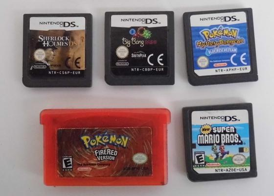 Selection of Gameboy games