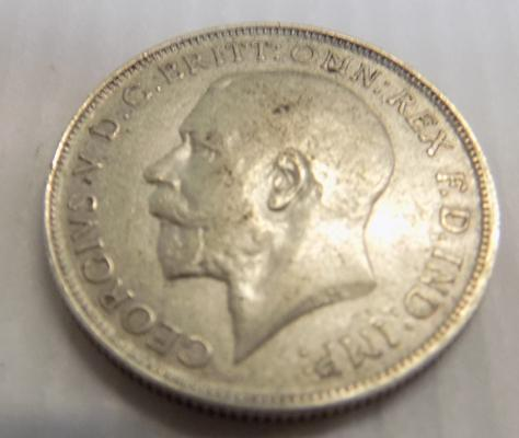 1918 George V - one Florin coin
