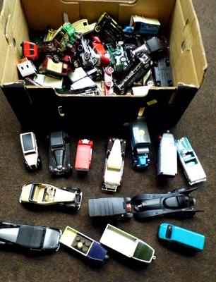 Mixed Box of Days Gone Ledo Matchbox models of Yesteryear & promotional diecast