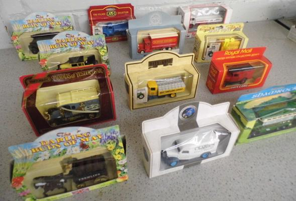 12x boxed diecast inc Darling Buds series